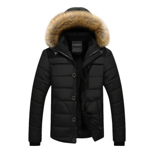 Fantasy Winter Snow Puffer Coat Padded Jacket