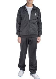 Vertical Sport 2 Piece Jacket & Pants Slim Fit Jogging Track Suit