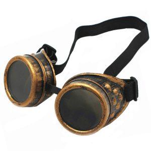 WEICHUAN Retro Steampunk Goggles