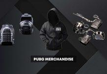PUBG merchandise